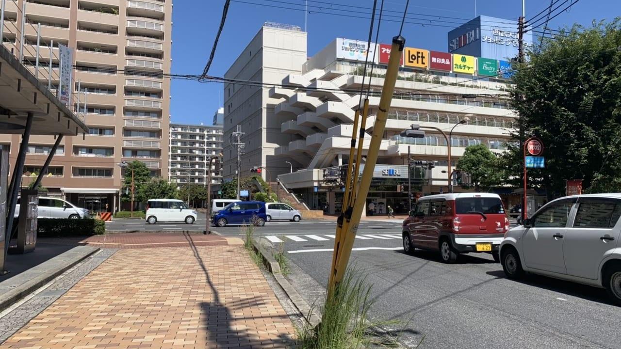 ときめき坂と西武百貨店